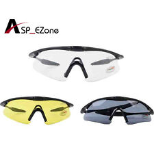 Outdoor Sporty UV400 Protection Police Shooting CS Cycling Glasses Sunglasses