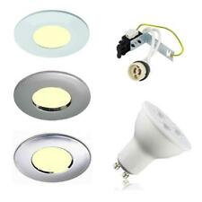 6 X IP65 LED SOFFIT OUTDOOR / BATHROOM SHOWER DOWNLIGHTS GU10 240V