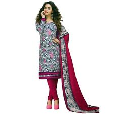 Ready to Wear Ethnic Printed Cotton Salwar Kameez Suit Indian Pakistani-DT-5017