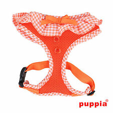 Any Size - PUPPIA - VIVIEN - Dog Puppy Soft Harness - Orange