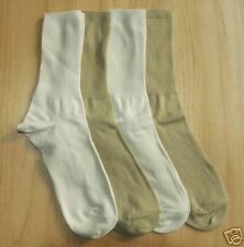 4 PRS M&S MENS COTTON RICH CASUAL SOCKS SIZE 10-12 NEW