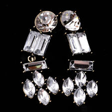 Women Fashion Jewelry Ear Studs Crystal Rhinestone Water Drop Earrings E3
