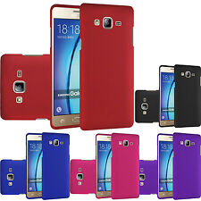 For Samsung Galaxy On5 G550 Rubberized HARD Protector Case Snap On Phone Cover