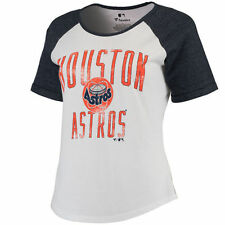 Houston Astros Women's Timeless Serenity Baseball T-Shirt - White - MLB