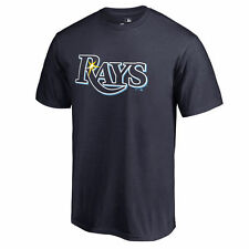 Tampa Bay Rays Team Color Primary Logo T-Shirt - Navy - MLB