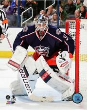 Curtis McElhinney Columbus Blue Jackets 2013-2014 NHL Action Photo (Select Size)