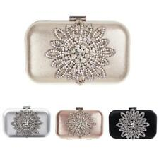 Crystal Sunflower Bag Clutch Purse Party Accessory Prom Wedding Evening Bag