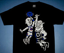 New Jordan vs. Monstars Space Jam tshirt xi 11 cartoon royal blue cajmear M L XL