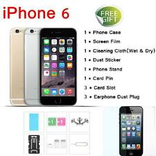 """Apple iPhone 6 4.7"""" 4G LTE Factory Unlocked Touch ID 16GB/64GB Smartphone A2F7"""