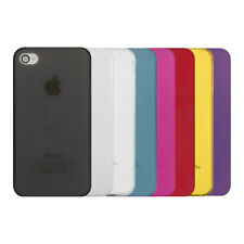 SLIM CASE COVER FOR APPLE IPHONE 4 4S ULTRA SLIM CELLPHONE BACK COVER CASE BACK