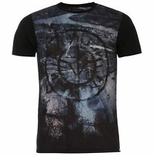 Firetrap Mens Lambeth Subject T Shirt Lightweight Short Sleeve Crew Neck Tee
