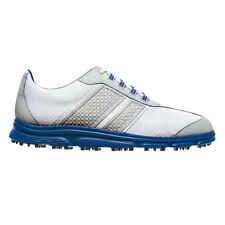 FootJoy SuperLites CT Golf Shoes - Grey/Blue 58135 New Closeout Mens Spikeless