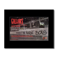 GALLOWS - Staring at the Rude Boys Matted Mini Poster