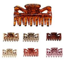 Phenovo Women Hair Clamp Claw Clip Comb Grip Hair Accessories 7 Colors Patterns