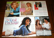149 Desperate Housewives Magazine Clippings, Covers, Ads & Articles-Eva Longoria