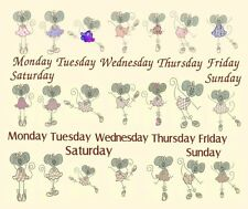 Ballet Mice Machine Embroidery Designs & Applique-Anemone Embroidery Designs DOW