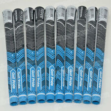 Set Of 13 Mid Size PLUS4 Golf Grips Golf Club Grips Blue/Red/Gray High Quality