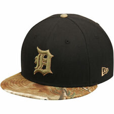 Detroit Tigers New Era Realtree 59FIFTY Fitted Hat - Black - MLB