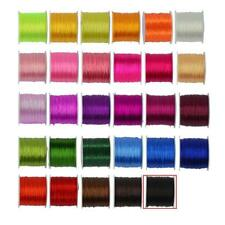 0.5 mm 50 yards Polyester Cord String Roll Crystal Beading Bracelet Jewelry DIY