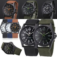 Mens Military Sports Watch Best Stainless Steel Analog Army Quartz Wrist Watch
