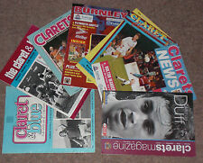 BURNLEY HOME PROGRAMMES 1970s + 1980s +1990s + 2000s - Choose from list