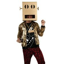 LMFAO SHUFFLE BOT PARTY ROCK COSTUME KIT HALLOWEEN COSPLAY MENS SIZE EXTRA LARGE