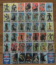 Force Attax Clone Wars Series 1 force Master choose Topps Star Wars Cards