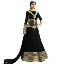 Designer Anarkali Wedding Salwar Kameez Suit Indian Bollwood-HL-Safeena-2771