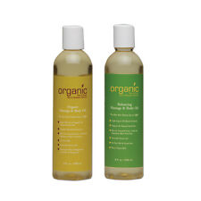 Organic Bath & Body 8oz Massage Oil