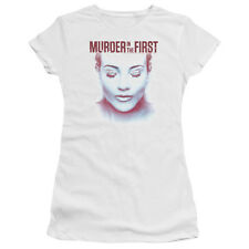 Murder in The First/Don't Talk Junior Sheer in White