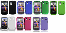 Hard Protector Snap on Cover Phone Case for HTC Amaze 4G Ruby