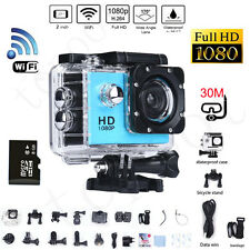 Full HD 1080P 12MP Recorder Car Cam Waterproof Sports DV Camera Action Camcorder