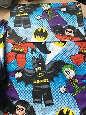 Lego Super Hero's (batman, Robin, Joker)  Single Duvet Set