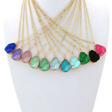 Charming Resin Pendant Necklace Women's Fashion Jewelry Gift