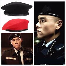 New Vintage Military Soldier Army Hat Unisex Men Women Wool Beret Beanie Cap