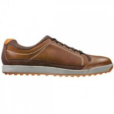 FootJoy Mens Contour Casual Closeout Golf Shoes 54222 – Brown/Orange - New