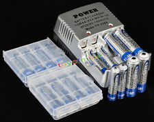 8x AA 8x AAA NiMH Ni-MH Rechargeable Battery +CHARGER S