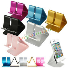 5Color Universal Aluminum Cell Phone Desk Stand Holder for Tablet Samsung iPhone