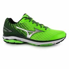 Mizuno Mens Wave Rider 19 Running Shoes Laces Breathable Mesh Sports Trainers