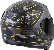 Scorpion EXO-R410 Convoy - Full-Face Street Motorcycle Helmet - Black/Gold