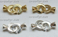 brushed sand s925 silver jewelry necklac bracelet CO clasp