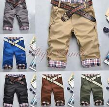 Mens Summer Casual Sports Shorts Fashion Cool Boys Short Pants Cropped Trousers