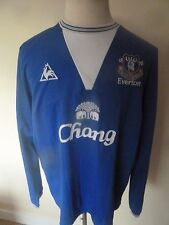 mens EVERTON ( CHE GUEVARA ) long sleeved shirt - size xl good condition
