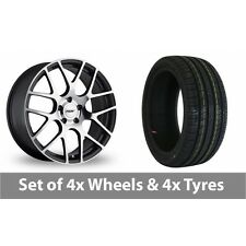 """4 x 17"""" TSW Nurburgring Forged Alloy Wheel Rims and Tyres -  225/60/17"""