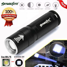 Super Brigh Zoom 3 Modes CREE XML T6 LED Powerful Flashlight Torch 18650 Lamp