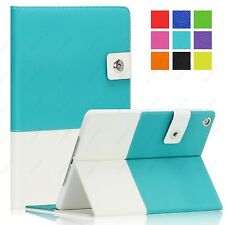 Hybrid leather Smart Case Cover for Apple iPad Mini 2 3 4 Air 2 Pro 9.7 12.9