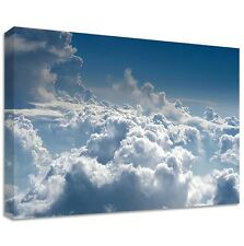 Clouds - Framed Canvas Art Print - Nature Art - Many Sizes