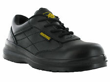Northwest Safety Steel Toe Cap Leather Lightweight Industrial Work Shoes Womens