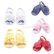 Baby Kids Girl Soft Sole Sandal Crib Toddler Newborn Anti-slip Shoes 0-12Months