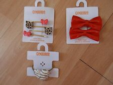 NWT GIRLS GYMBOREE RIGHT MEOW HAIR CLIPS,PONYTAIL HOLDERS U PICK!!!